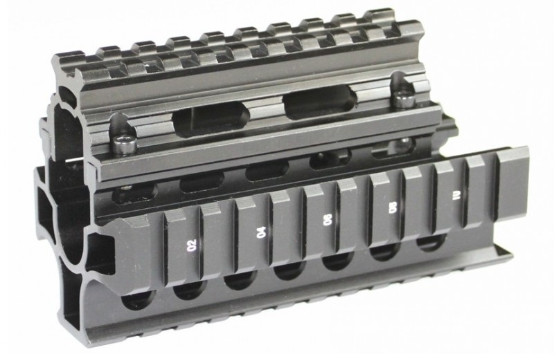 (2140) AK Compact Handguard Quad Rail System