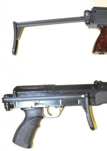9106) VZ 58 / CZ 858 Side folding stock | CZ858 / VZ58 parts