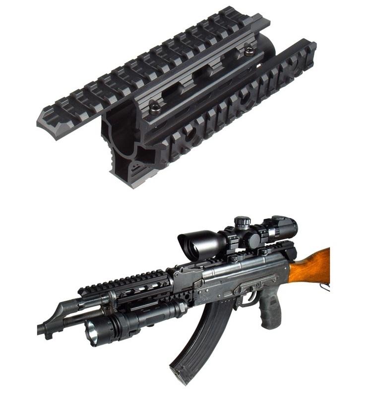 (2120) AK47 Quadrail