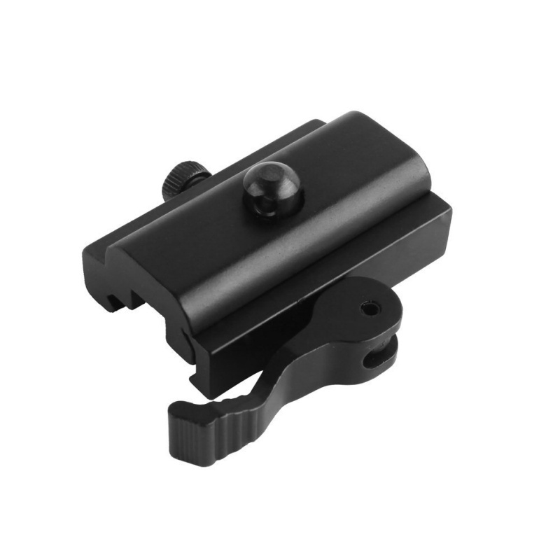(1109) Tweepoot adapter met snelsluiting