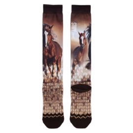 StappHorse - Paardrijsokken - Running Horse Printed