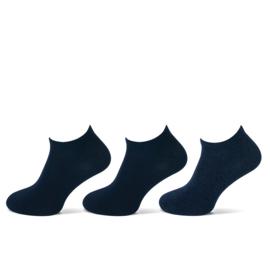 Teckel - Sneaker Sokken - Marine - 6 Paar