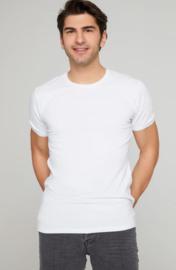 Longfit - Tshirts - Wit - 4 Pack