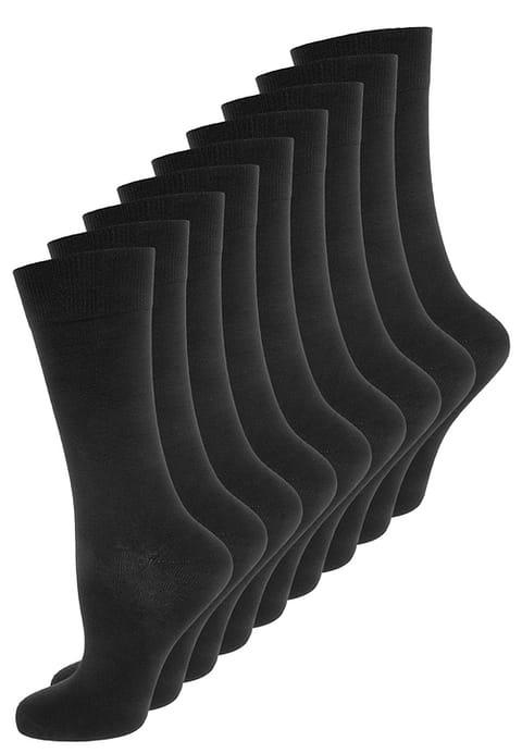 100% Katoen - Herensokken - Zwart - 10 Paar