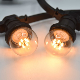 Led lamp transparant 0,7 W - 2650K