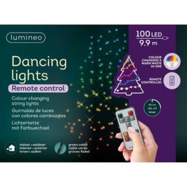 Kerstverlichting 10 meter 100 dancing lights