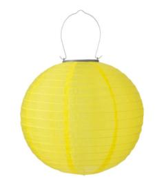 Solar lampion geel 30 cm - zonne-energie