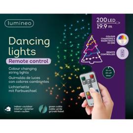 Kerstverlichting 20 meter 200 dancing lights