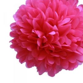 Pompon fuchsia 20 cm