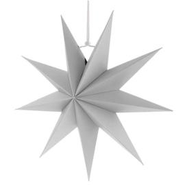 Witte kerst sterren met 9 punten
