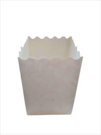 Candlebag kaarszak Blanco midi 10 stuks