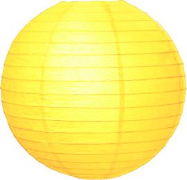 Gele lampionnen 50 cm