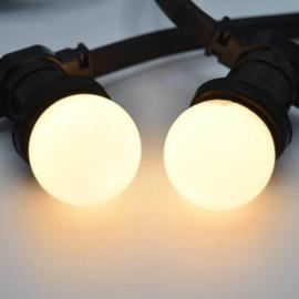 Led lamp Melkwitte kap warm wit - Meest verkochte lamp