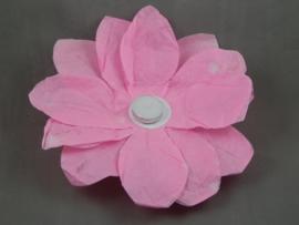 Waterlantaarn lotusbloem roze 30 cm