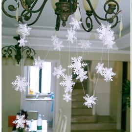 3D sneeuwvlokken slinger