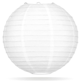 Witte lampion 75 cm - extra kwaliteit