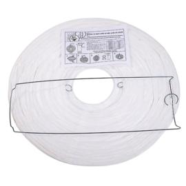 Lampion wit papier 35 cm