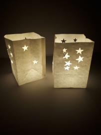 Candlebag kleine ster 10 stuks