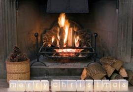 Candlebags woordset merry christmas - klein