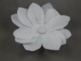 Waterlantaarn lotusbloem wit 30 cm