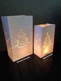 Candlebag kerstboom midi 10 stuks
