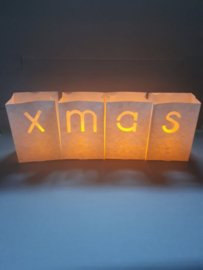 Candlebags woordset xmas - midi