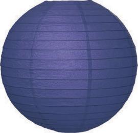 Donker blauwe lampionnen 50 cm