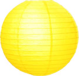 Citroen gele lampionnen 20 cm
