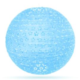 Lampion Eyelet blauw 35 cm