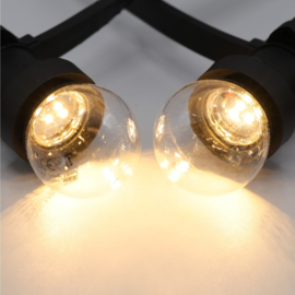 Led lamp 2 Watt transparant 2650K - dimbaar