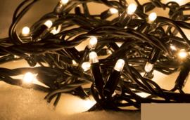 Koppelbare kerstverlichting voor buiten 100 lampjes warm wit