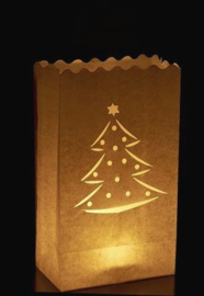 Kerst candlebags