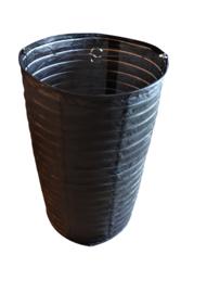 Lampion cilinder zwart