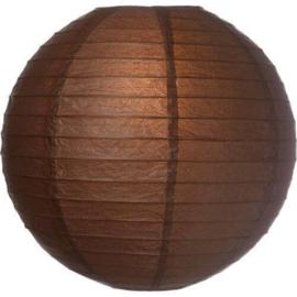 Bruine lampionnen 20 cm