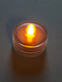 LED waxinelichtje geel 10 stuks