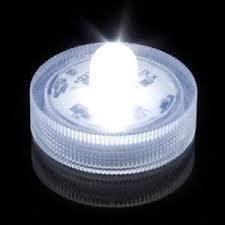 Lampion nylon tonnetje wit