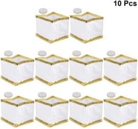 Drijvende waterlantaarns 15 cm - 10 stuks