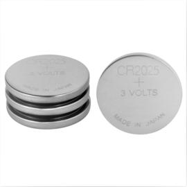 Reserve batterijen afstandsbediening  CR2025 - 4 stuks