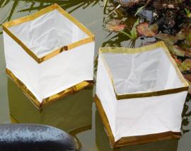 Drijvende waterlantaarns 15 cm - 20 stuks