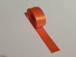 Satijnlint Oranje 9 meter