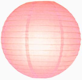 Roze lampionnen 35 cm