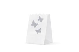 Candlebag vlinder midi 10 stuks