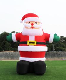 Kerstman opblaas figuur 4 meter hoog huren