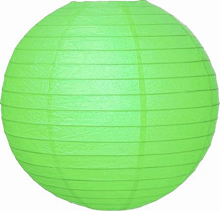 Lampion mint groen 35cm
