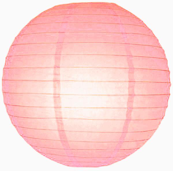 Roze lampionnen 20 cm