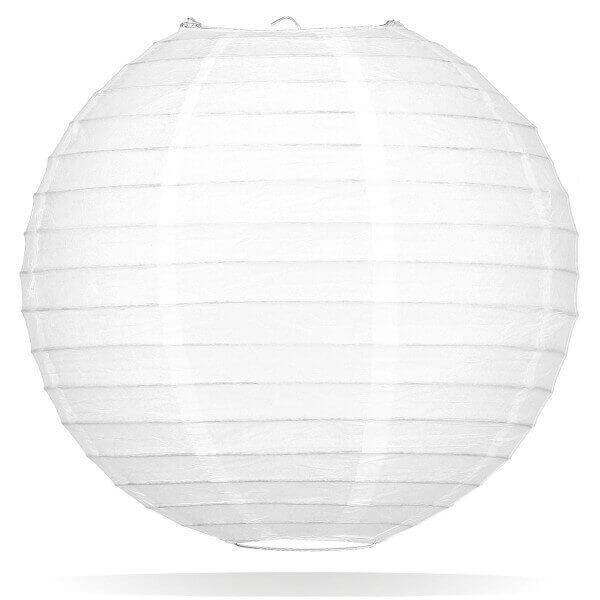 Witte lampion 65 cm