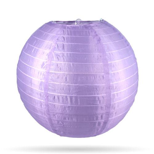 Nylon lampion lila 25 cm