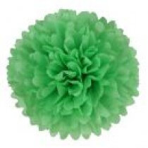 Pompon groen 20 cm