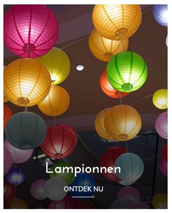 Lampionnen - Lampionnen kopen bij Candlebagplaza.nl