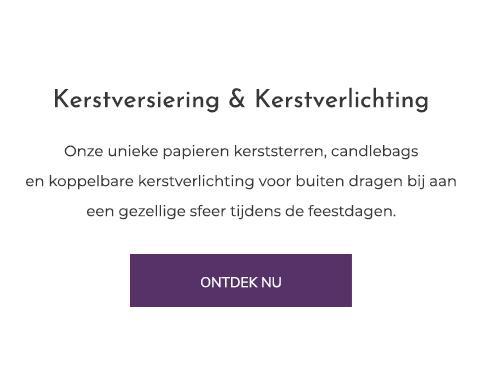 Kerstversiering - kerstverlichting - Candle bags kopen bij Candlebagplaza.nl